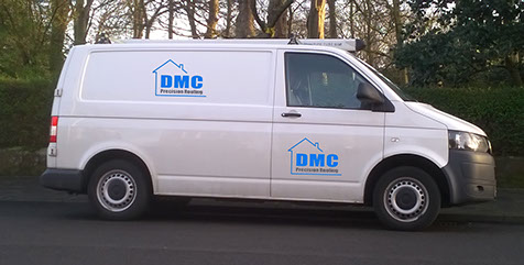 DMC ROOF REPAIR VEHICLE